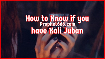 How to Know if you have Kali Juban