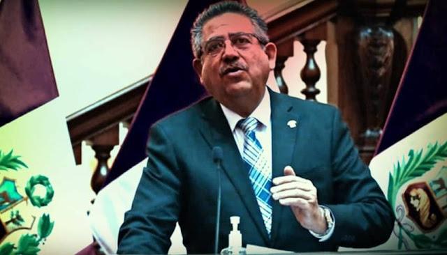 Manuel Merino buscó el respaldo de las Fuerzas Armadas para la vacancia presidencial