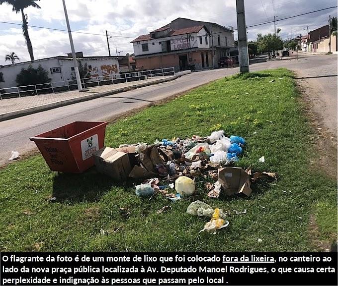 Prefeitura de Cariré faz apelo para que todos colaborem com a limpeza pública