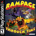 Download game Rampage Through Time PS1 (iso)