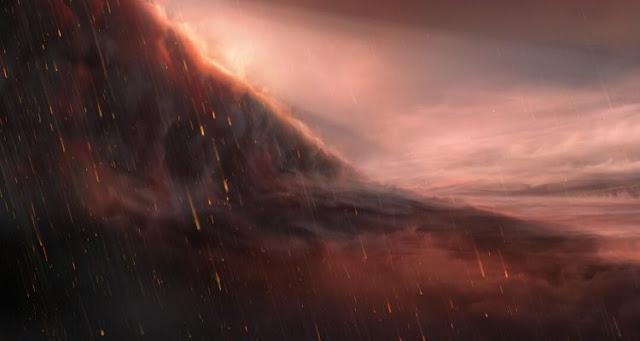 ESO Telescope detected Exoplanet Where It Rains Iron