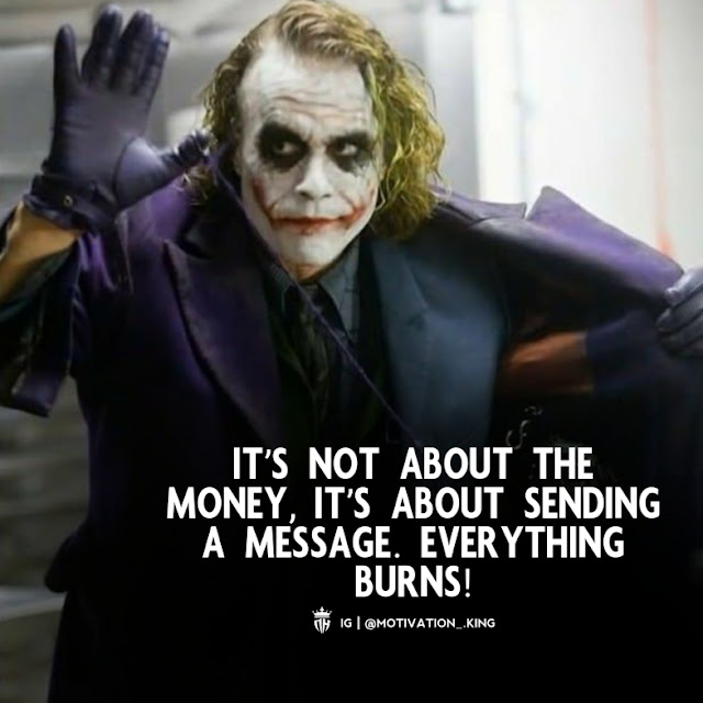 make sense, joker quotes about pain, joker quotes on love, joker quotes on smile, joker quotes hd, new joker quotes
