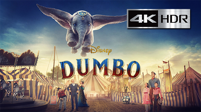 Dumbo (2019) 4K UHD [HDR] Latino-Ingles