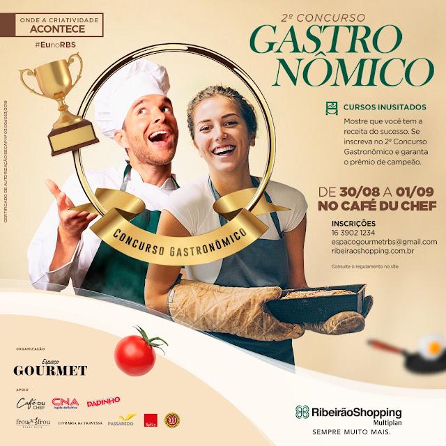 CONCURSO GASTRONOMICO, RIBEIRÃO SHOPPING, CULINARIA, CONCURSO