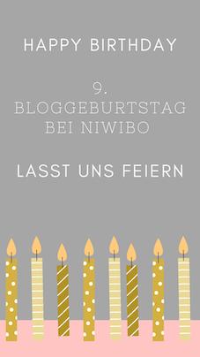 9. Bloggeburtstag von niwibo