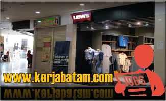 Lowongan Kerja Batam Levi's Store Mega Mall