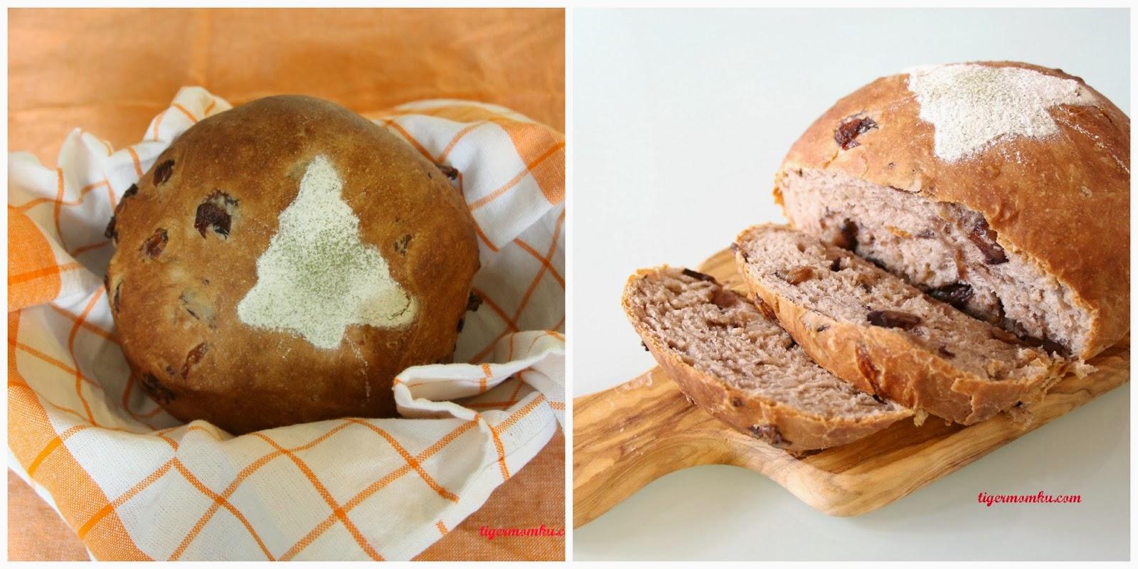 TIGERMOMKU: 紅酒桂圓麵包