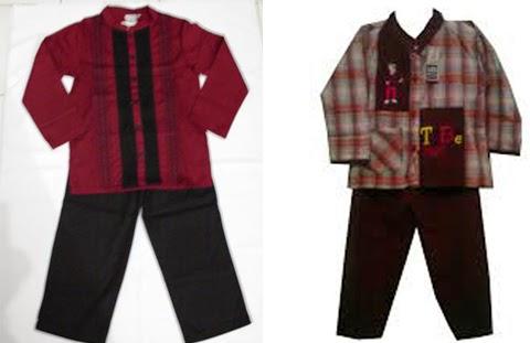 gambar baju koko anak