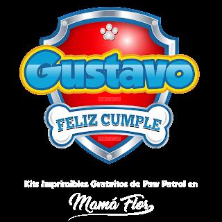 Logo de Paw Patrol: Gustavo