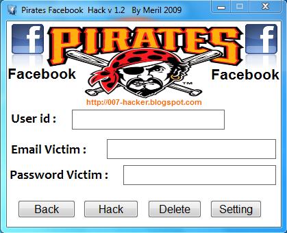 Pirate Facebook Hacker Password