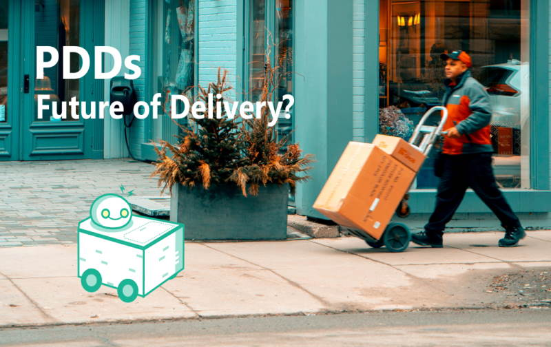 PDDs - future of delivery?