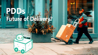 U.S. States That Have Legalized Personal Delivery Devices (PDDs) or Last-mile Autonomous Delivery Robots