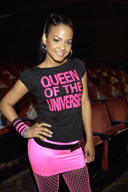 Christina Milian Queen Of The Universe tee.  PYGear.com