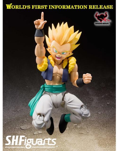 """Primeras imágenes oficiales del S.H.Figuarts Super Saiyan Gotenks de """"Dragon Ball Z"""" - Tamashii Nations"""
