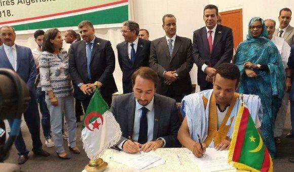 Argelia y Mauritania anuncian la creación de una nueva ruta comercial entre Tinduf y Zuérat y abren el paso África Occidental.