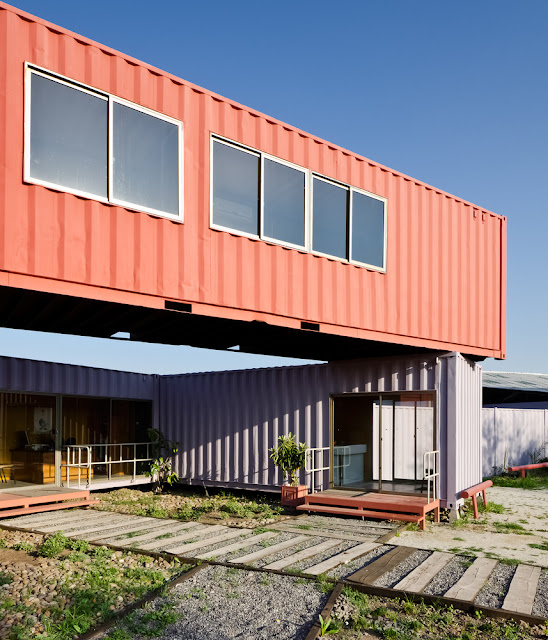 Shipping Container Sale Rooms, Showroom and Offices, Santiago, Chile 8