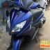 Sơn xe Yamaha Nouvo LX nhám xanh GP