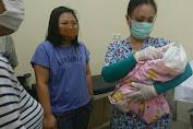 Bayi Laki-Laki Di Temukan Warga Di Belakang Rumah Warga