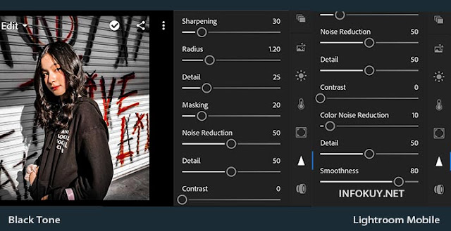 DETAIL - Tutorial Edit Foto Black Tone Lightroom
