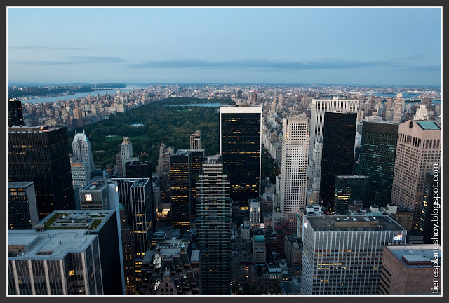 Vistas desde Top of the Rock (Rockefeller)