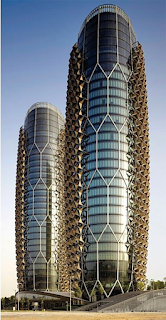 Pineapple Building, Abu Dhabi - Construction & Architectural Features