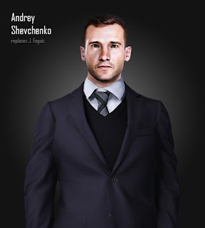 PES 2021 Faces Andriy Shevchenko by Serge