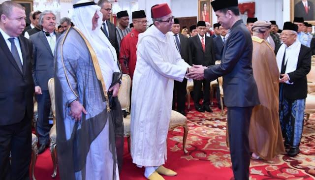 Jokowi: Nabi Muhammad jadi Teladan Bangun Indonesia
