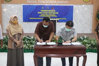 PT GTI dan Pemprov NTB Sepakati  Pokok-Pokok Addendum Kontrak Perjanjian Produksi
