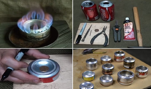 Penny Can Stove
