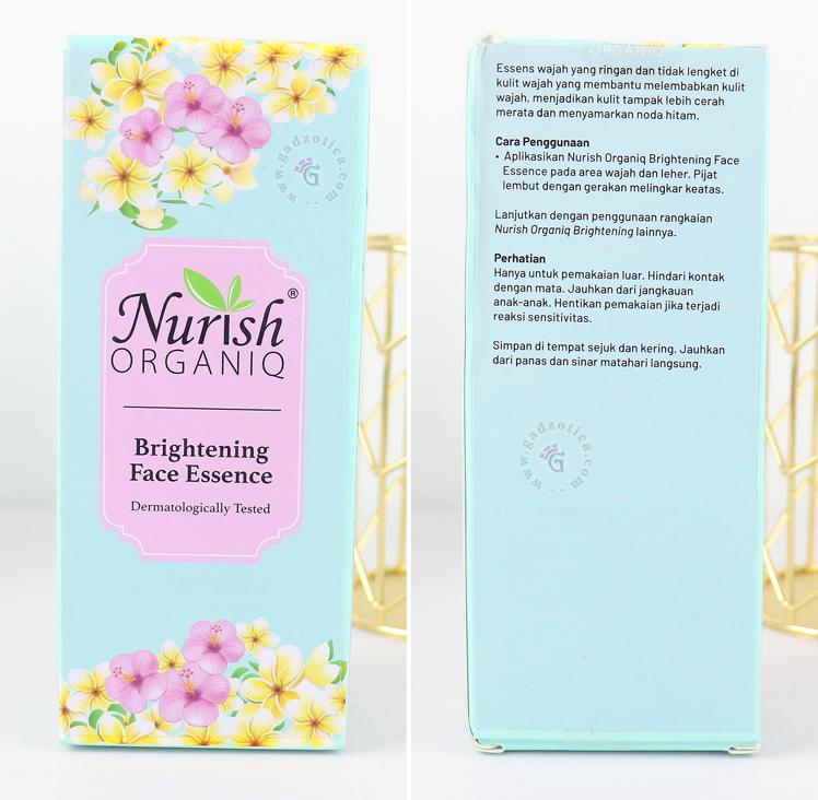 Review Nurish Organiq Face Essence