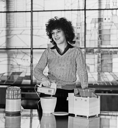 1984 год. Электрическая мясорубка, миксер и кухонный комбайн