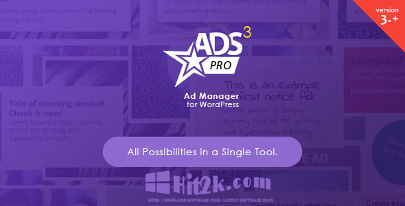 ADS Pro 3.0.1 Multi WordPress Ad Manager Extended License Free