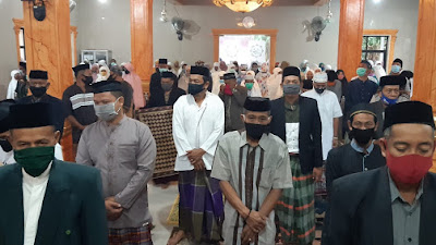 Khutbah Idul Adha Masjid Al Istiqomah Kampiri, Kesabaran Hikmah Covid-19
