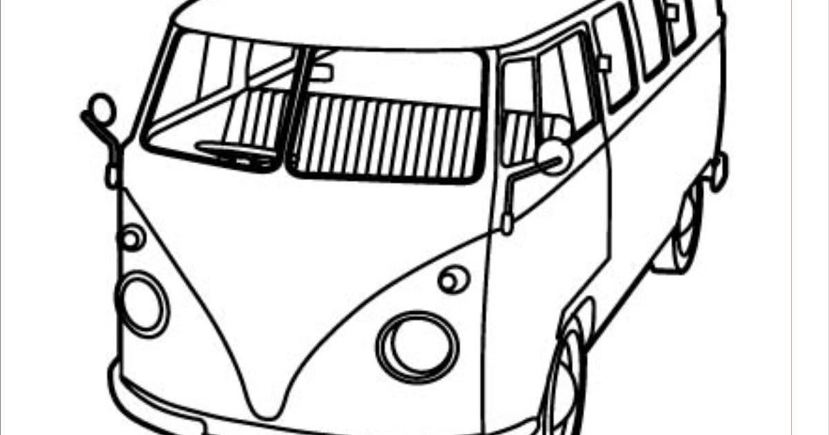 Atividades Pedagogicas Pinte O Desenho E Complete Kombi