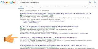 SEO optimization to select the best page