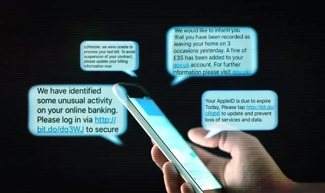 A flaw in SMS messages that allows hackers to control phone numbers