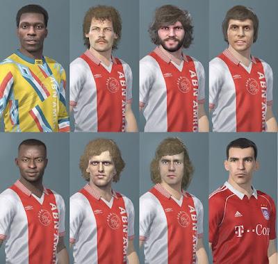 PES 2020 Facepack Legends Ajax Amsterdam + Lucio by Caste