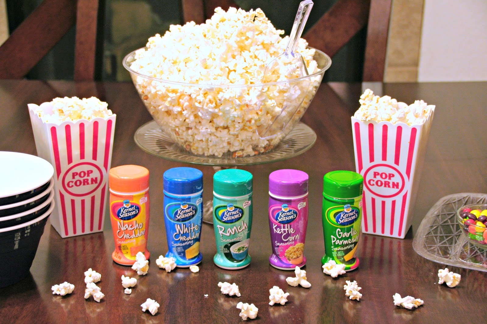 #SnuggleUpMoments, #AD, How To Create A Popcorn Bar, How To Create
