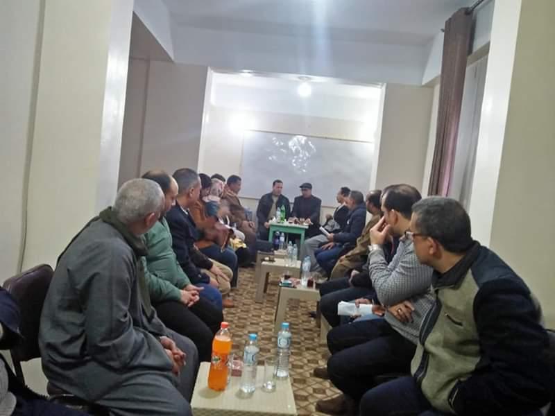 مناقشة تشكيل الامانات المختلفة  باجتماع أمانة حزب مستقبل وطن  بايتاي البارود