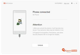Cara Membuka Unlock Botloader Xiaomi Redmi 4