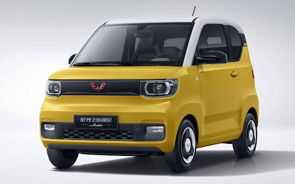 GM Wuling vende 1.000 unidades por dia do Hong Guang - China