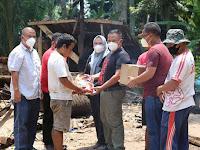 Yanny Munawarti Dampingi Nanang Gulirkan Bedah Rumah Warga Kalianda dan Sidomulyo