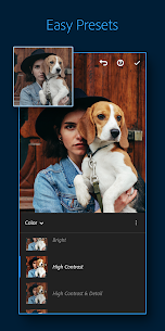 تحميل برنامج Adobe Photoshop Camera: Photo Editor & Lens Filter اخر اصدار