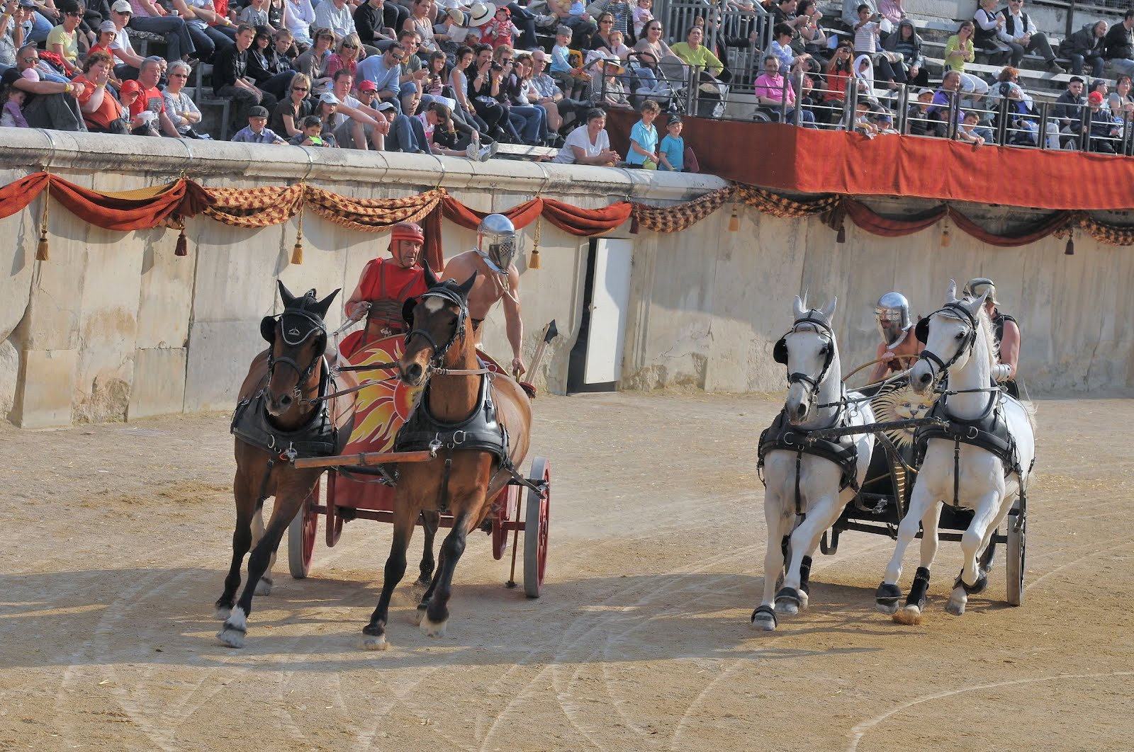 spectacle gladiateur nimes