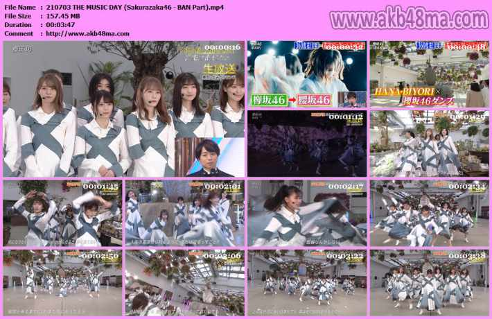 Sakurazaka46 - BAN Part