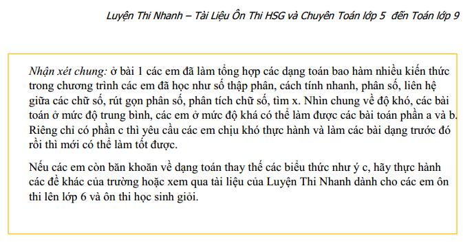 [Đáp án] Đề thi vào trường Nguyễn Tất Thành - ĐHSPHN 2013 - 2014