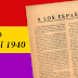 Manifiesto: «A los españoles» México, 14 de abril 1940