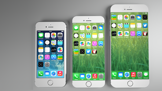 TALK WITH TECHNOLOGY TODAY: New Concept Compares 4-Inch iPhone 5s With Rumored 4.7-Inch and 5.5-Inch iPhone 6 Images