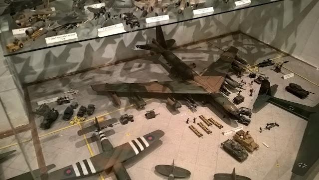Maket Boeing B-52 D Stratofortress. İstanbul Havacılık Müzesi