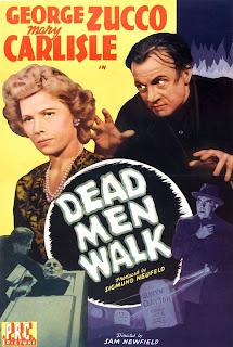 Portada película Los muertos andan